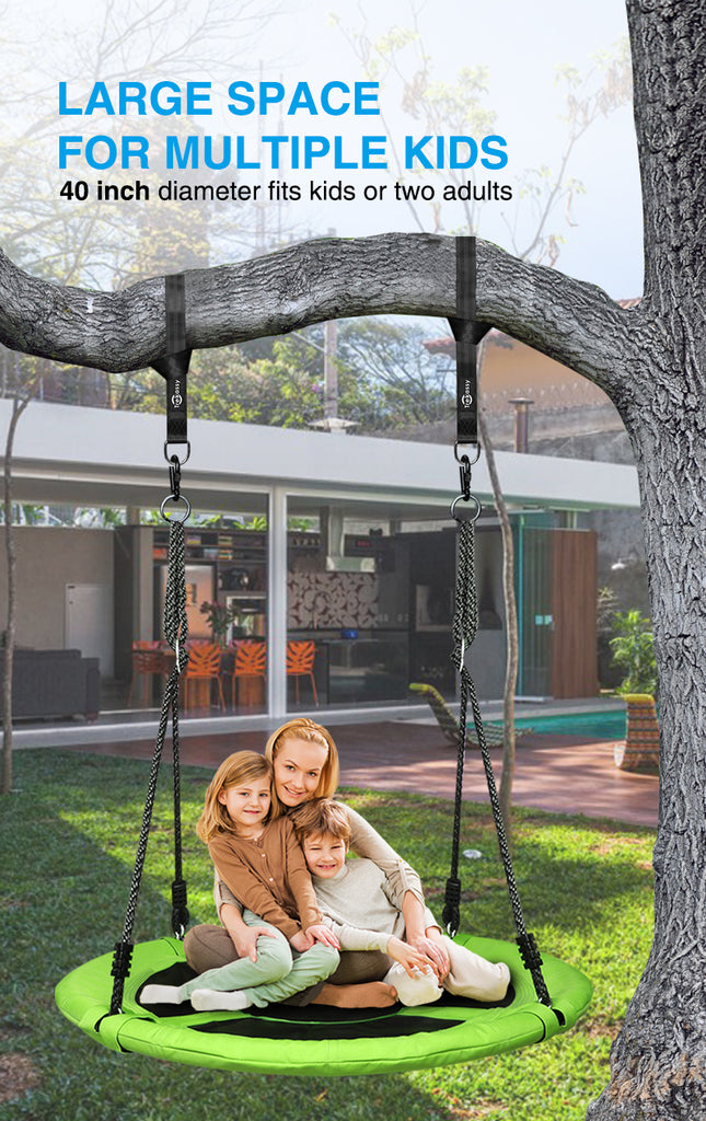 easy to install tree swing
