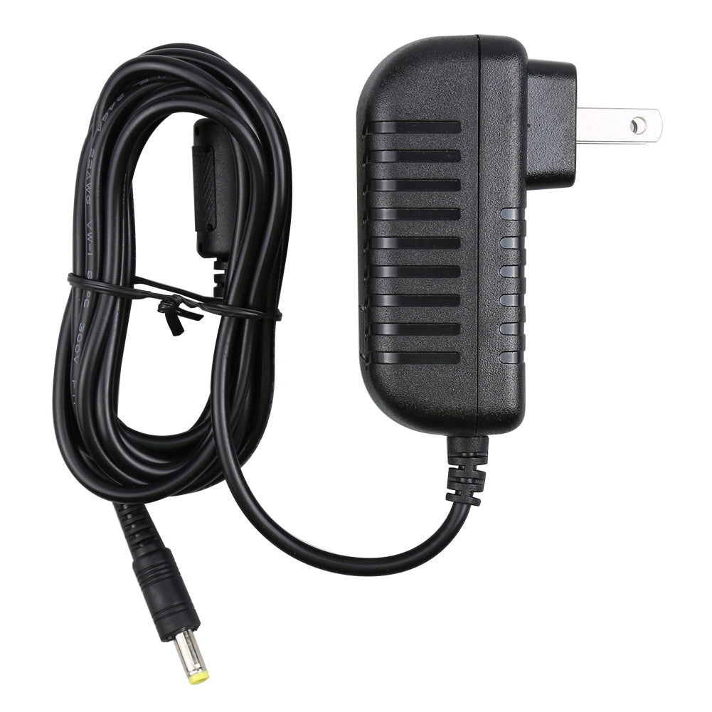 Universal Wall Charger AC/DC Adapter for Car Headrest Monitor and Portable DVD player with 12V DC Input Jack and 2 Meters Length