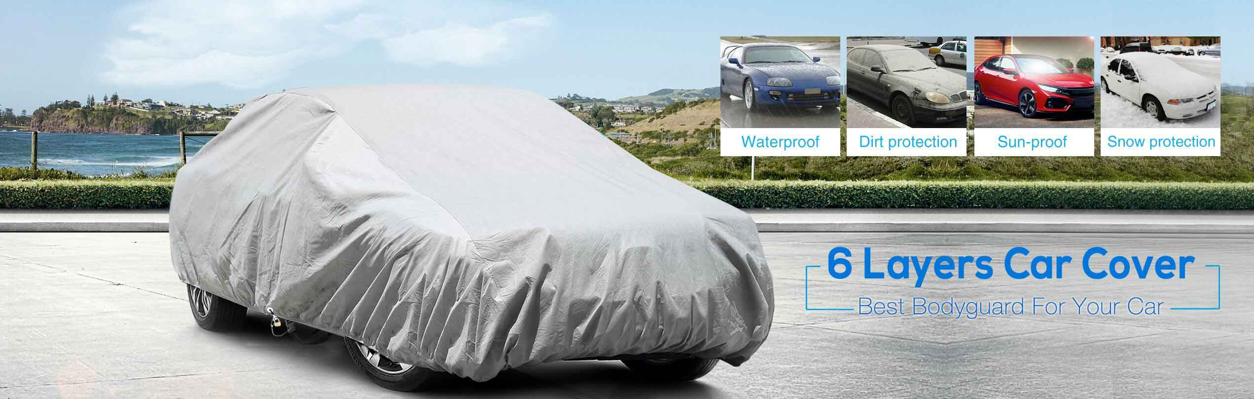 6 layers car cover