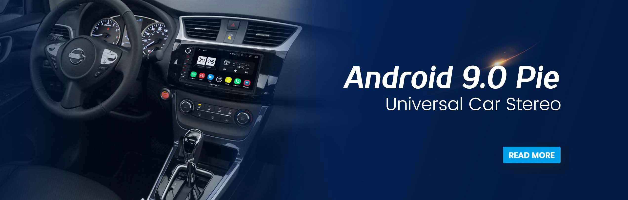 android 9.0 pie universal car stereo