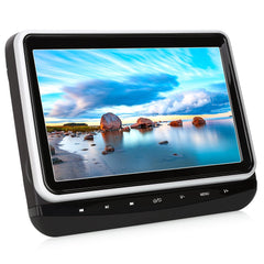 "10.1"" HD Headrest Monitor Front Clamshell Design DVD Player with Last Memory, Touch Button, USB&SD Slot, Region Free"