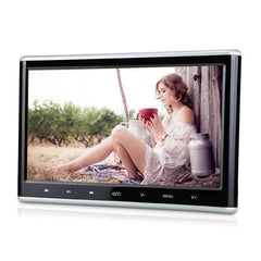 "10.1 "" Car Headrest DVD Player Entertainment Monitor Display with Touch Button and HDMI Input, Support FM/IR/Last Memory/USB/SD"