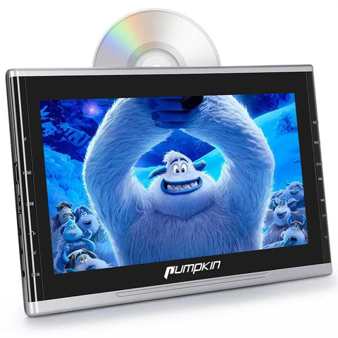 Car Video 10.1 Inch Headrest Monitor DVD Player With Suction Type Optical Drive