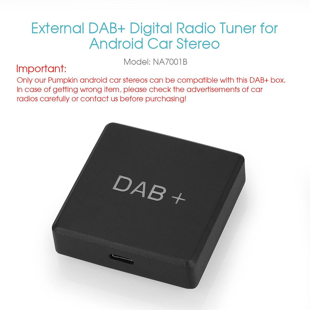 External DAB+ Digital Radio Tuner for Android Car Radio