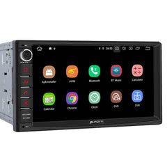 Android 9.0 Pumpkin Car Stereo Systems 1080P HD Video Subwoofer Audio Output Quad-Core 7-Inch Screen Touch Screen