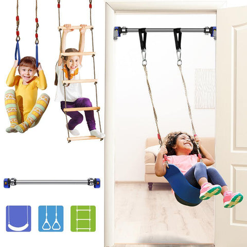 Indoor Doorway Gymnastic Swing Kit with Indoor Swing