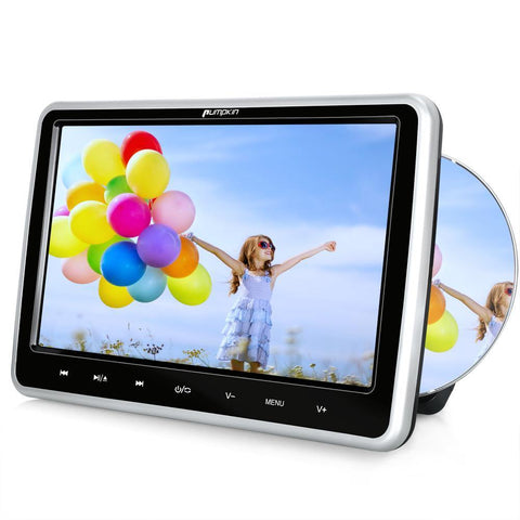 "10.1"" Car DVD Player with Headrest Mount Holder and Touch Buttons Monitor Supports USB/SD-PLAYBACK"