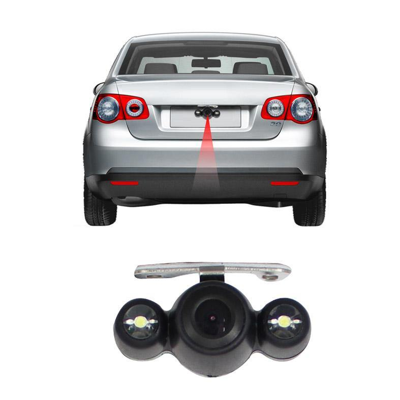 LED Night Vision Car Rear View Wide Angle Reverse CMOS Backup Camera Waterproof/Marking Lines/Shockproof