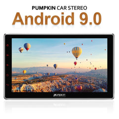 Pumpkin 10 Inch Universal Octa-core Android 9.0 infotainment System with radio, Bluetooth, GPS