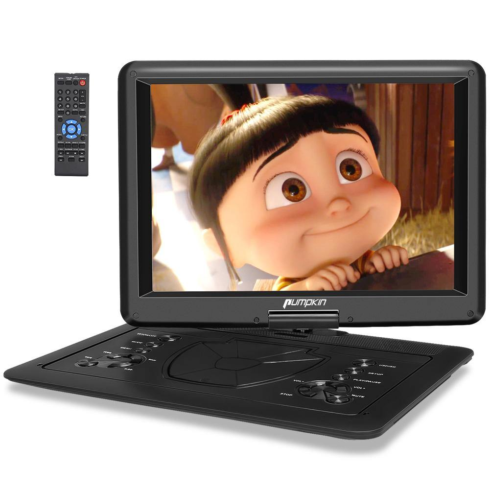 "16"" Portable DVD Player Supports HDMI Input, 1080P HD Video, Sync Screen and Last Memory, AV in & OUT"