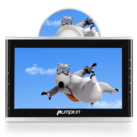 "10.1"" Car DVD Player with Full HD Screen and Headrest Mount Holder Supports HDMI/FM/IR/AUX"
