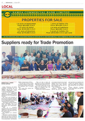 Suppliers ready for Trade Promotion