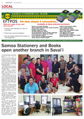 Samoa Stationery and Books open another branch in Savai'i