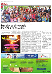 Fun day and rewards for S.S.A.B. families