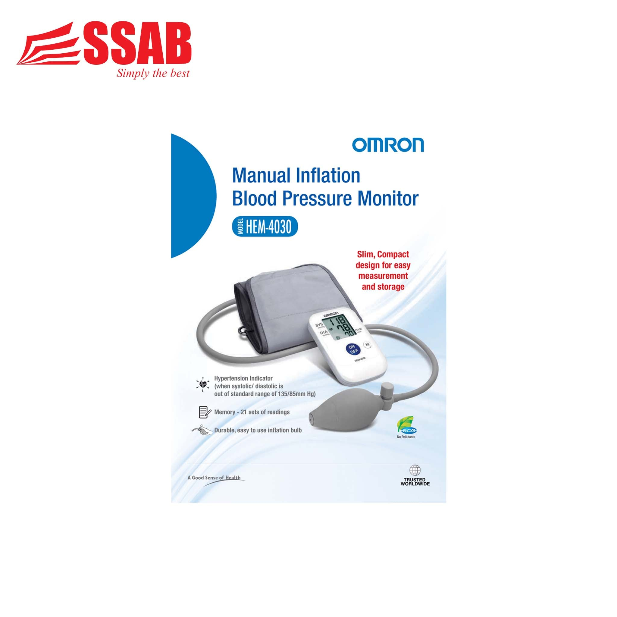 Omron  Manual Inflation Blood Pressure Monitor