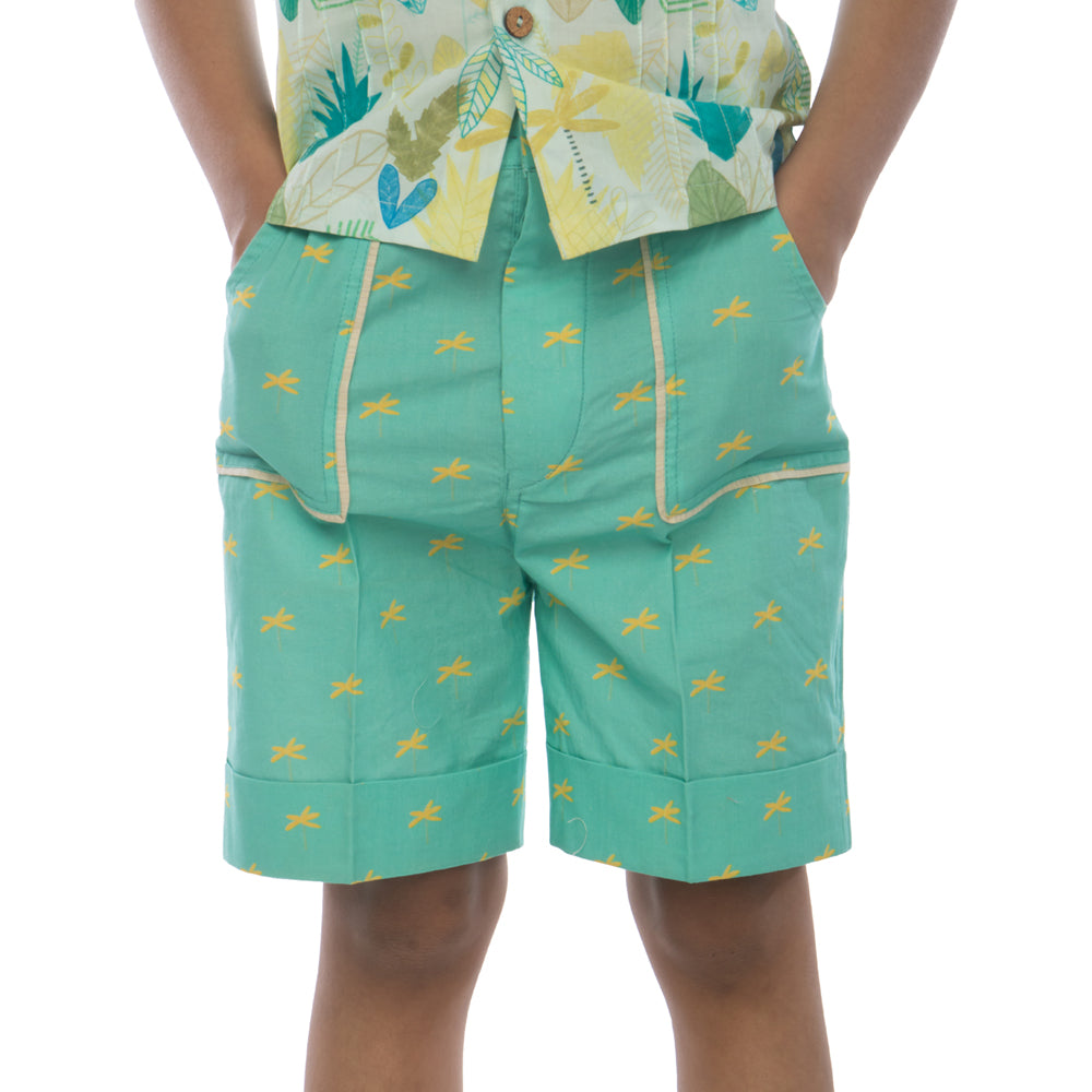 Calm Palm Shorts