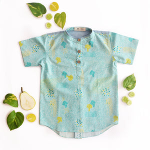 Broccoli Short Kurta