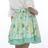 Leafy Forest Layered Skirt