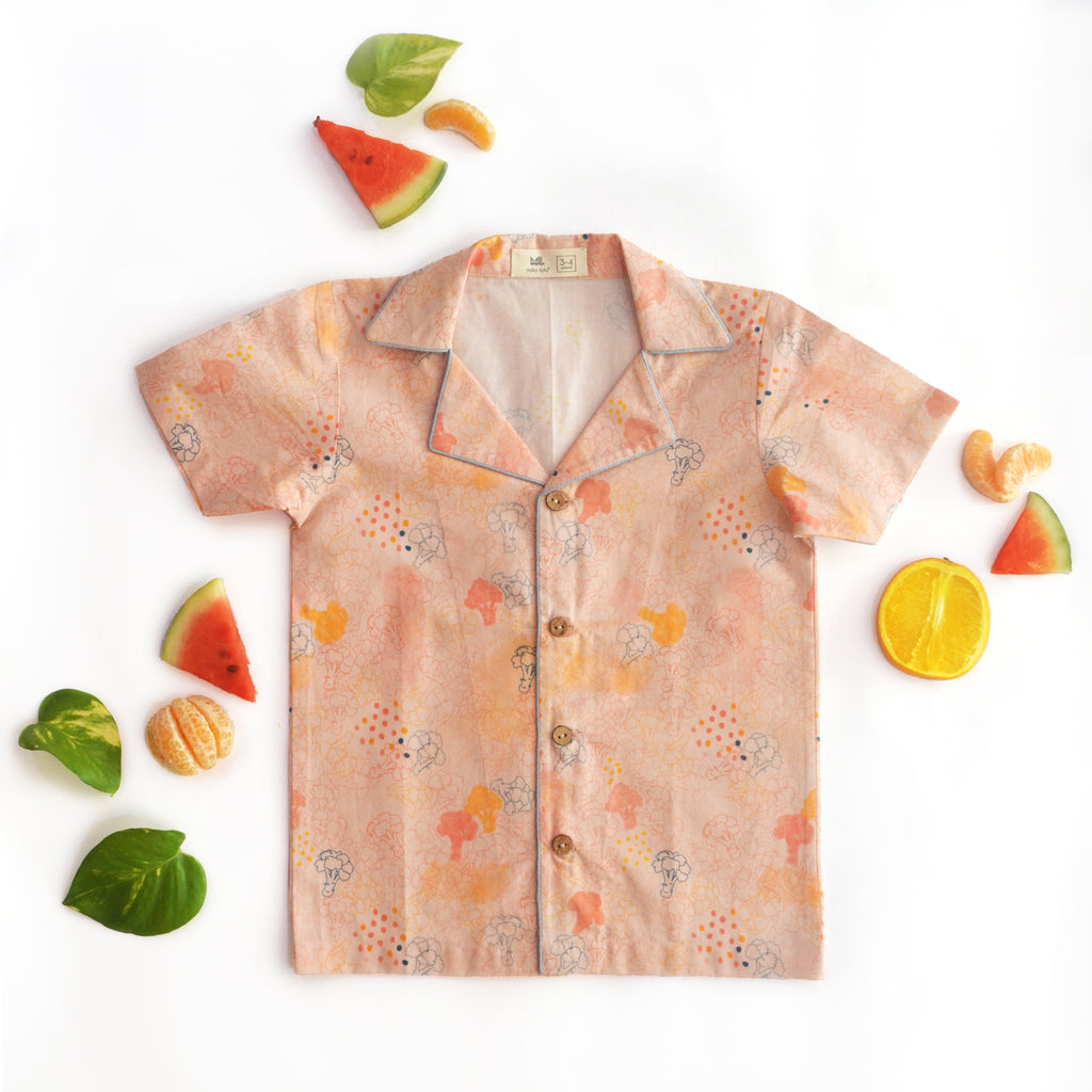 Blush Broccoli Unisex Hawaiian Shirt