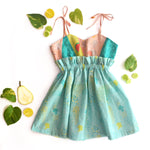 Broccoli Patchwork Dress