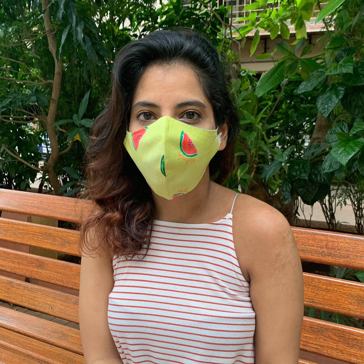 Watermelon Reversible Mask