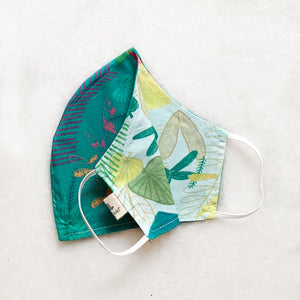 Leafy Forest Reversible Mask