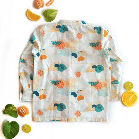 Citrus Pintuck Shirt