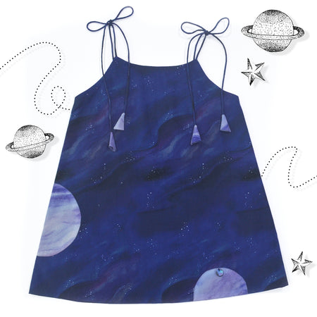 Thunder Spaghetti Dress