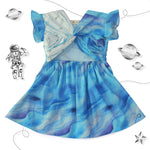 Cloudy Knotted Dress