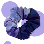 Twilight-Thunder Upcycled Scrunchie