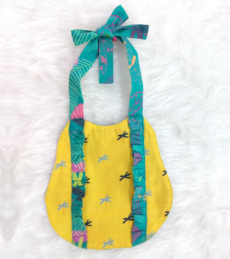 Organic Cotton Tie-Up Bib