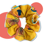 Citrus Upcycled Scrunchie