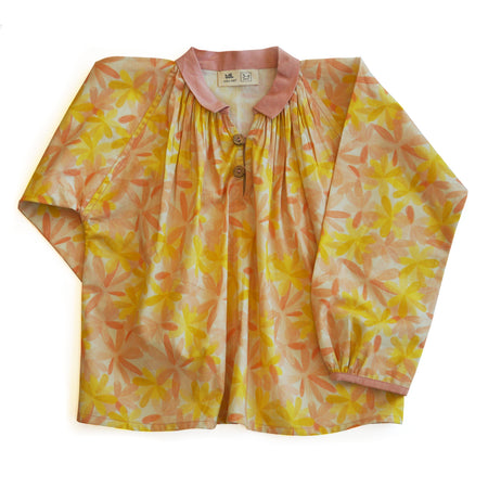 Apricot Blooms Blouse