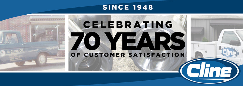 Cline Hose & Hydraulics 70 years in business