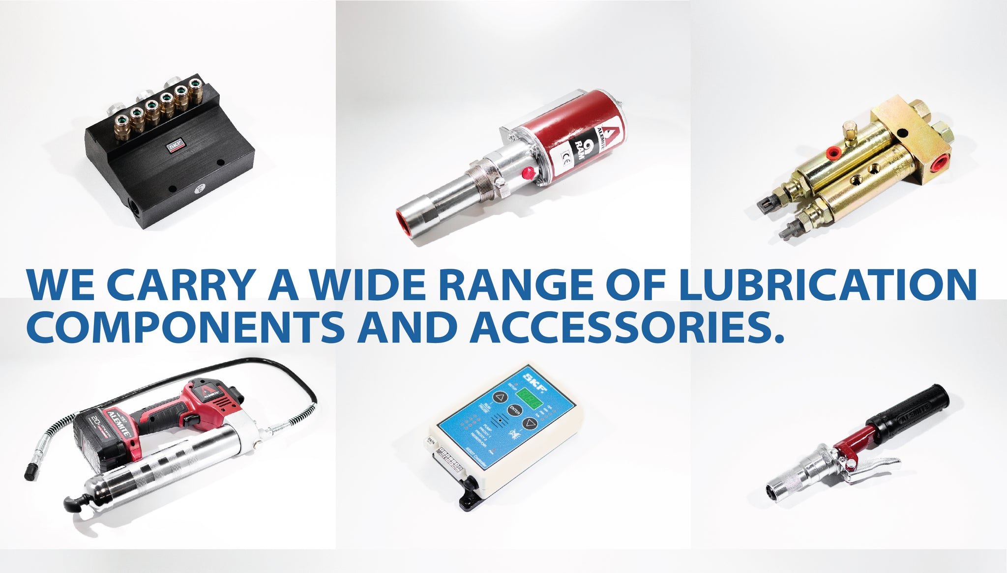 Lincoln lubrication SKF lubrication authorized distributor and service center South Carolina
