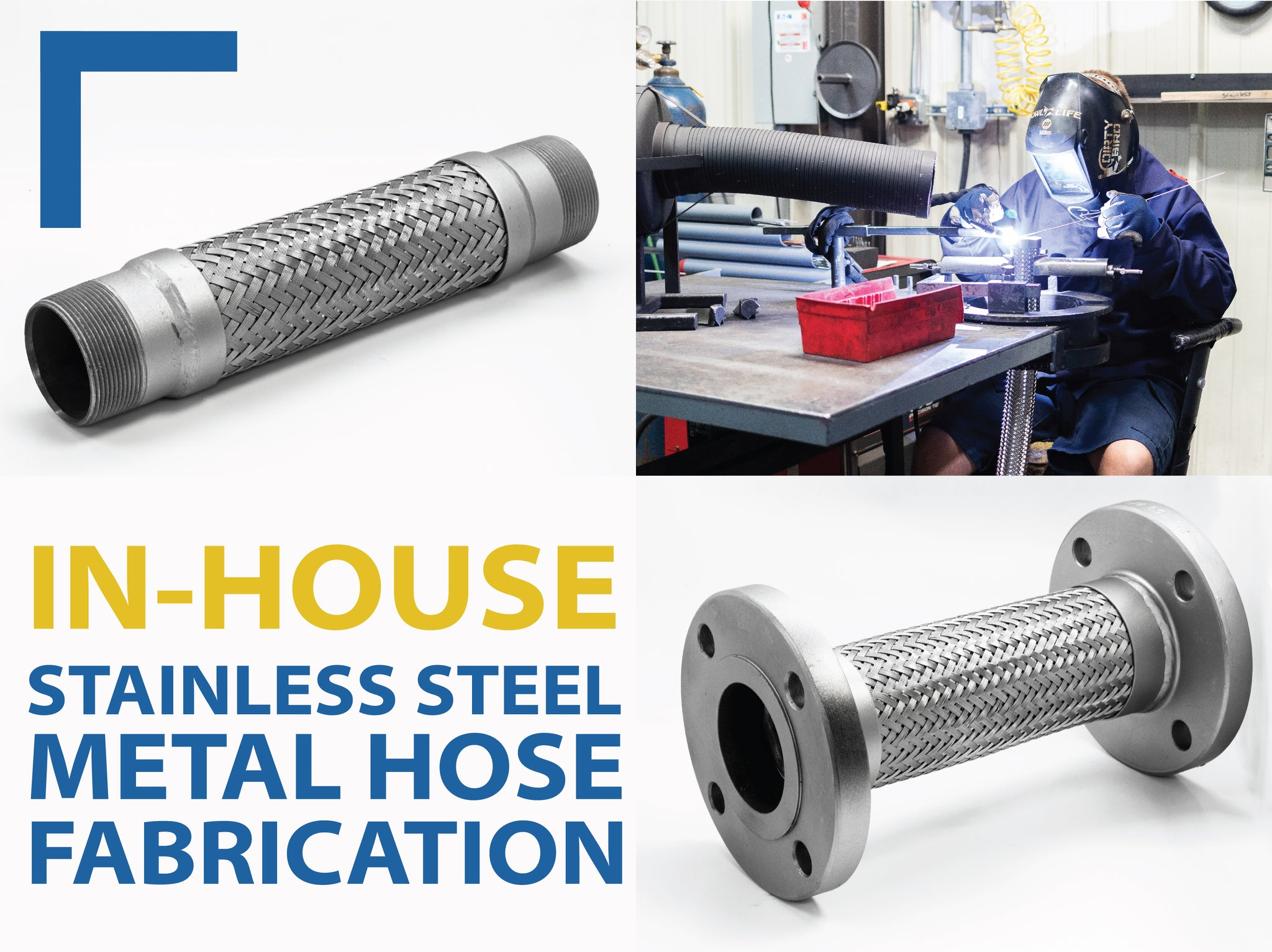 Stainless Steel Metal Hose Fabrication