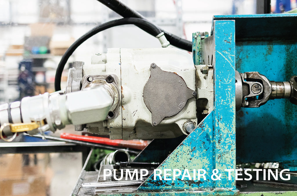 Hydraulic Pump Repair and testing