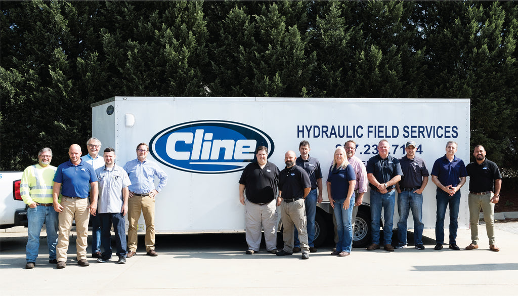Hydraulic Shop: Cline Hose & Hydraulics Greenville South Carolina