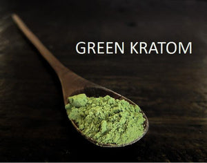 Green kratom leaf products