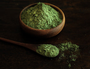 Moringa leaf powder as a fine high quality grind