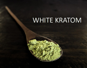 White strain kratom products