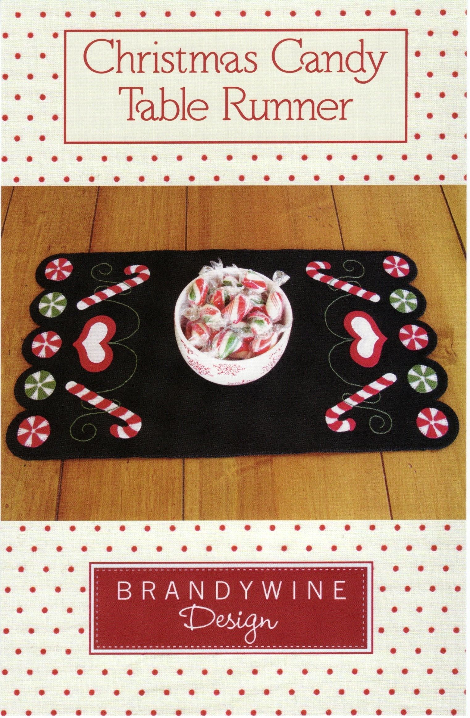 Christmas Candy Table Runner
