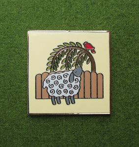 Pin: Wooly Sheep
