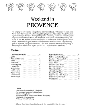 Weekend in Provence