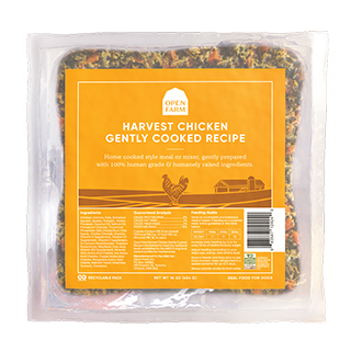 Home Cooking for Dogs - Harvest Chicken | Open Farm