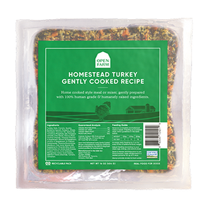 Home Cooking for Dogs - Homestead Turkey | Open Farm