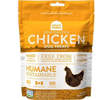 Dehydrated Chicken Treats