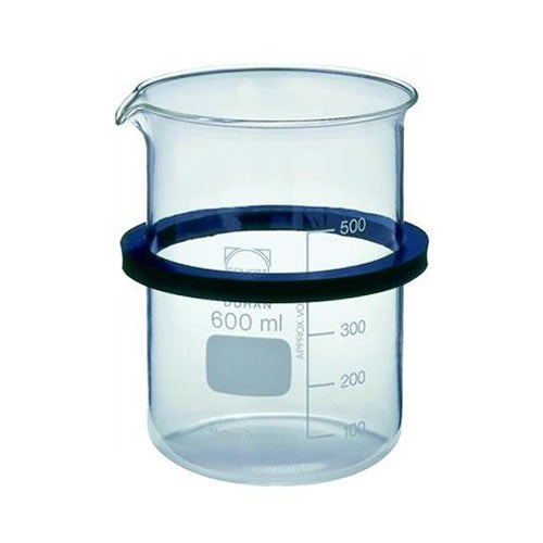 Bandelin SD06 Glass Beaker with Ring-Lid
