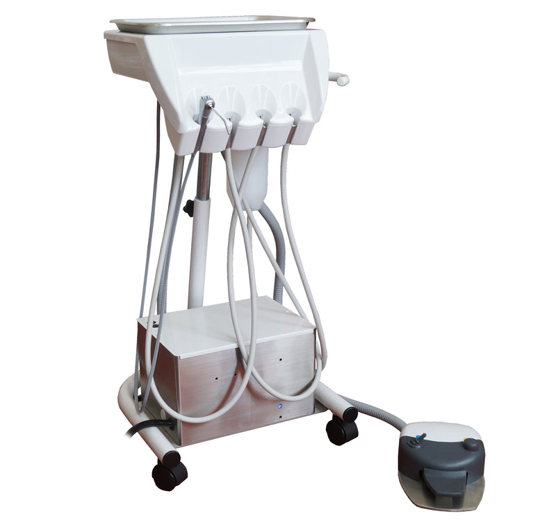 Belmont Voyager MC Delivery Unit on Cart Base with Integrated Service Box