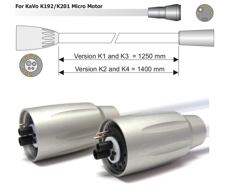 Denlux Kavo Compatible Micro Motor K192 - K201 Hose for Kavo Units